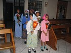 Girls of Hogar Rafael at Dormition Feast