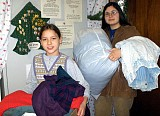Youth Receive Donated Coats & Jackets