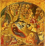 Icon of the Nativity of Our Lord and Savior Jesus Christ