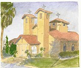 Painting of St. George's Orthodox Church