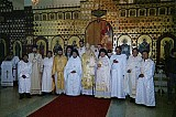 Clergy of Mexican Exarchate during Visit by Archbishop DMITRI