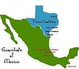 Map of Bridges: Mexico & Texas