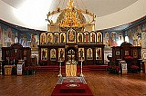 Iconostasis in Interior of St. Seraphim's Cathedral