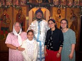 Fr. Antonio Perdomo y Familia Arrived at St. George's in December 2001