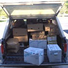 A Truck Load from the Food Bank